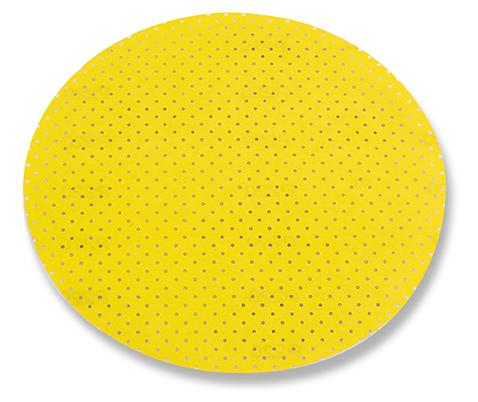 Disco carta abrasiva perforata gr.60 velcro a strappo confezione da 25 pezzi FLEX D225 PF-P60 VE25    260.233