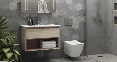 IDEAL STANDARD sanitari/lavabi d'arredo. Linee semplici ma d'effetto per il tuo bagno ideale Ideal standard TESI