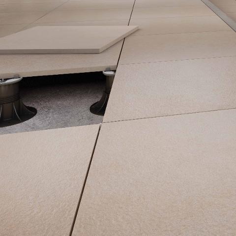 Casalgrande Padana KERBLOCK Pavimento per esterni in gres porcellanato effetto pietra Pietre Native