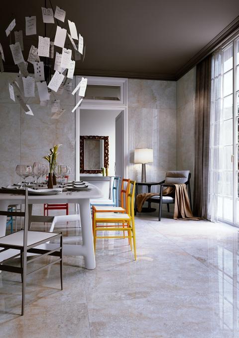 Casalgrande Padana ONICI Pavimento/rivestimento in gres porcellanato effetto pietra Granitoker