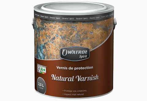 Vernice opaca  Owatrol  Natural varnish incolore