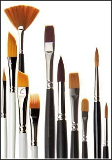 FERRARIO belle arti, colori ad olio e acrilici, pennelli, tele, cavalletti  ferrario