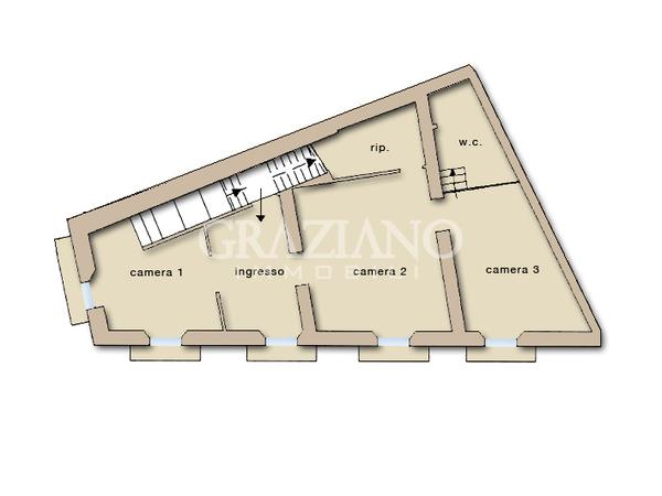 Appartamento in affitto a caltagirone catania via roma for Appartamenti arredati in affitto a catania