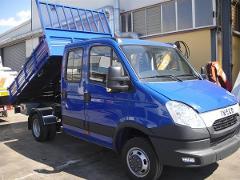 AUTOCARRO IVECO DAILY 35C18 COMPLETO DI CASSONE RIBALTABILE TRILATERALE - SICILIA