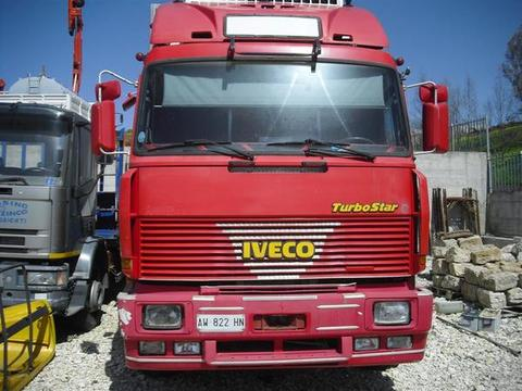 AUTOCARRO/CAMION IVECO FIAT 190-36 CON CASSONE FRIGORIFERO
