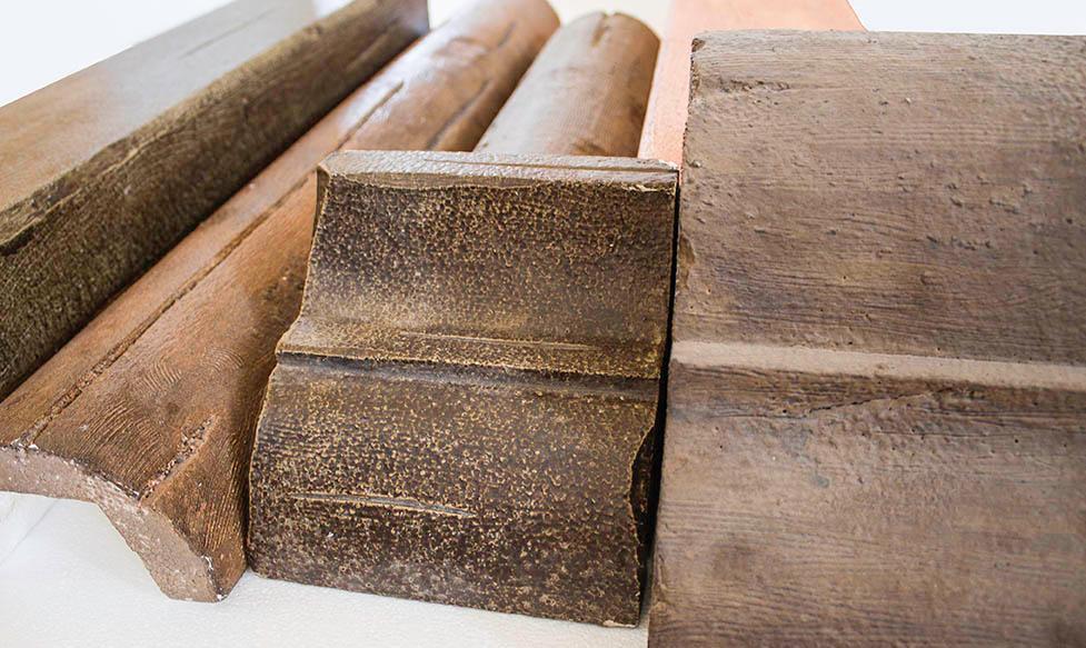 Travi i in polistirolo in finto legno a catania e sicilia for Polistirolo finto legno