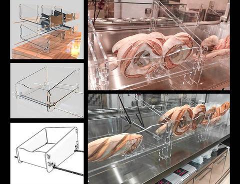 Arredi di design per negozi  a Catania e Sicilia PIXEL