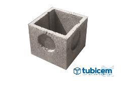 Pozzetti e Prolunghe in cemento  cm 40 x 40