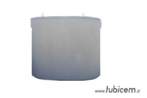 Cisterna per acqua potabile  litri 12.500 Ovoidale