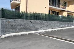 Spacco di cava in pietra lavica