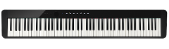 Pianoforte Digitale  Casio PX-S1000