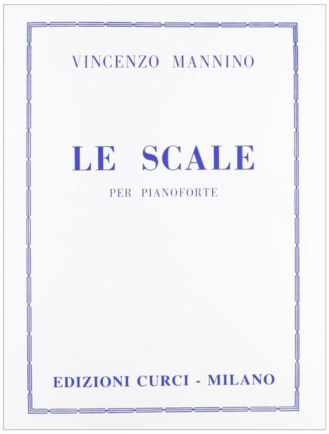 Mannino Le Scale per Pianoforte  Curci