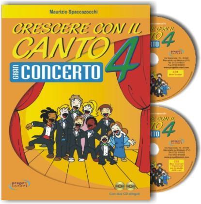 Crescere con il Canto vol. 4 Progetti Sonori PS0603