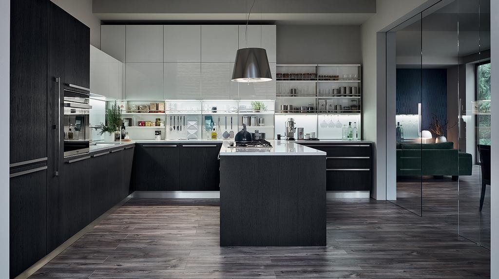Cucine con penisola veneta cucine mazara del vallo trapani for Cucine bellissime moderne