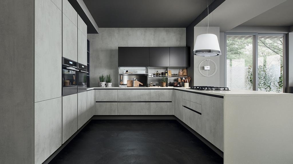 Cucine Componibili Veneta Cucine.Cucine Con Penisola Veneta Cucine Mazara Del Vallo Trapani