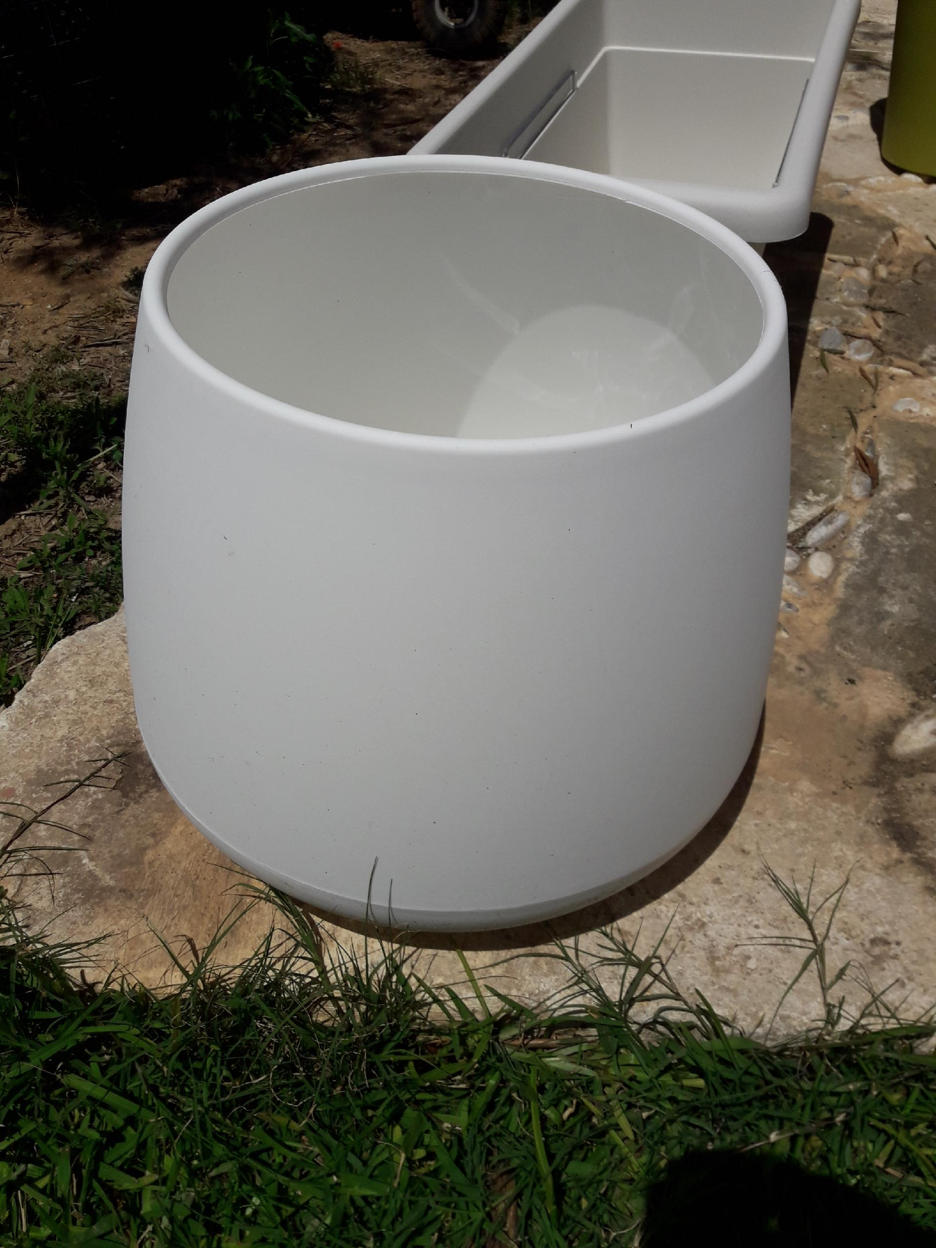 VASO BUBBLE BIANCO TELCOM BUBBLE
