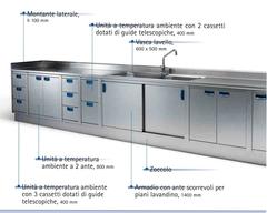 Tavoli, lavelli, pensili, armadi acciaio inox Catania Electrolux Elecrtolux