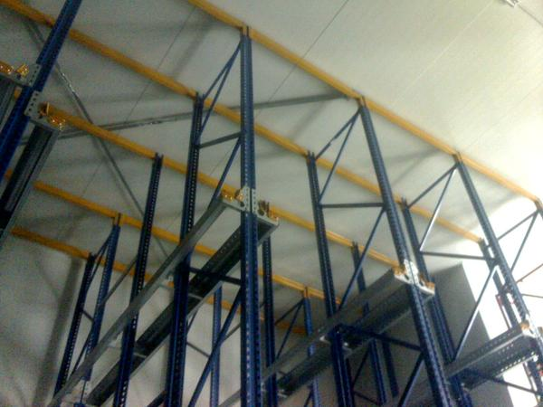 Storage  NEW and USED shelving Pallet Racking SCAFFALATURE  JUNGHEINRICH PALLET RACKING IN MALTA
