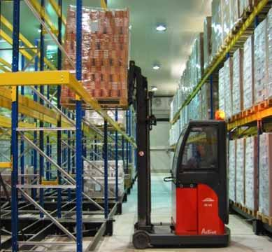MOBILE RACKING SYSTEMS COLD ROOMS MALTA AND SICILY ICAM