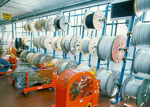 Reel Rack (High Capacity Wire Reel Storage Rack) cef