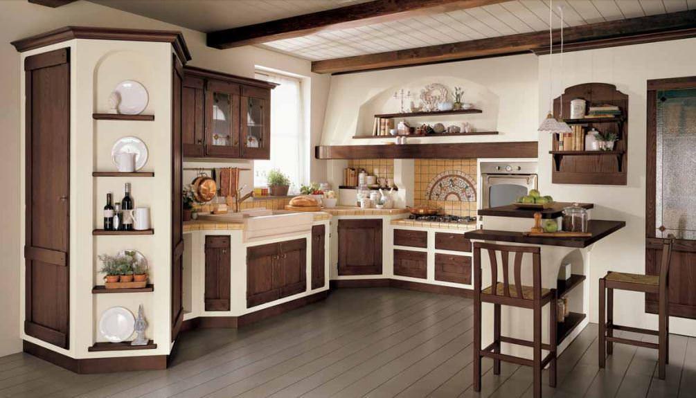 Cucine in muratura rilievo fraz di trapani trapani for Salotti in muratura