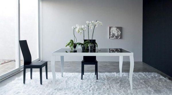 Tavoli da pranzo moderni rilievo fraz di trapani for Offerte tavoli da pranzo