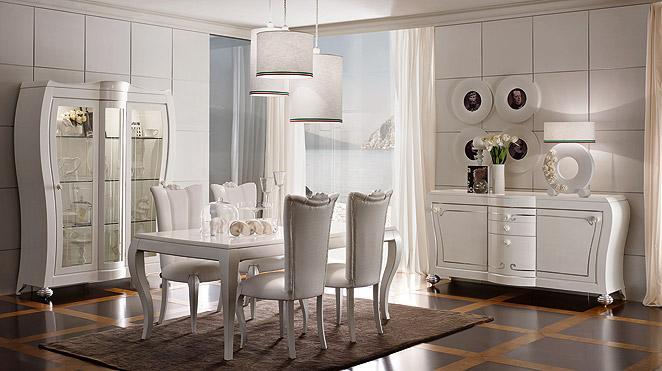 Sala da pranzo rilievo fraz di trapani trapani for Arredamento moderno contemporaneo