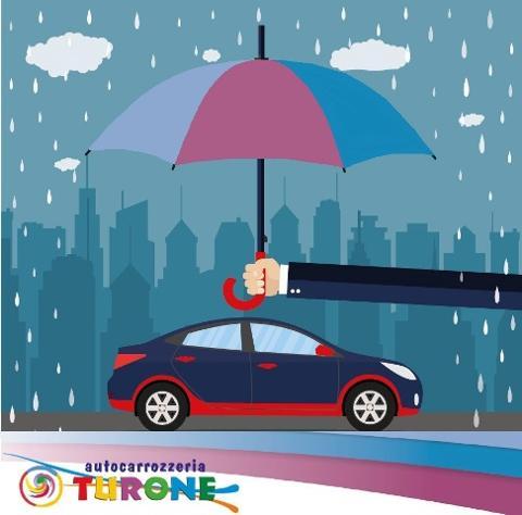 TRATTAMENTO ANTIPIOGGIA: l'ombrello per la tua auto!