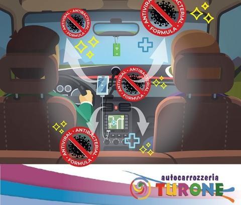 IGIENIZZAZIONE ABITACOLO: LA PROTEZIONE IN AUTO