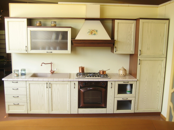 Cucina Decapè Panna Chiaramonte Ragusa Sicilia Mobilificio ...