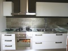 Cucina Rovere Laccato Bianco Chiaramonte Ragusa Sicilia Mobilificio Casmene Rovere laccato Bianco