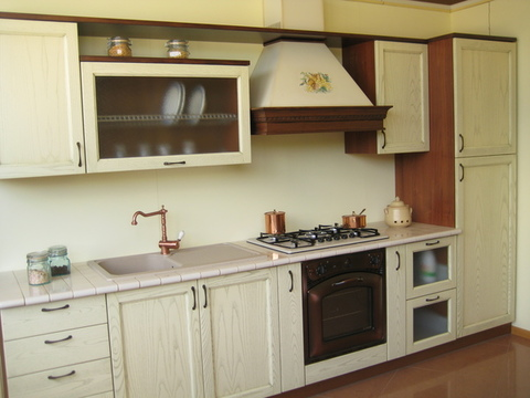 Cucina Decapè Panna Chiaramonte Ragusa Sicilia Mobilificio Casmene