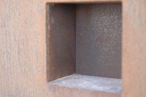 CANCELLI IN LAMIERA CORTEN
