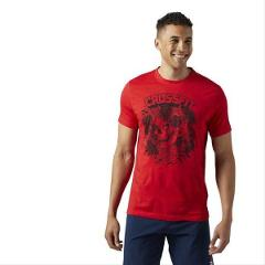 T-SHIRT  CROSSFIT X MIKE GIANT SKULL GRAPHIC REEBOK