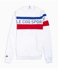 Felpa tricolor Le Coq Sportif