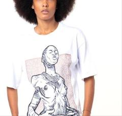 T-shirt African Woman Dolly Noire