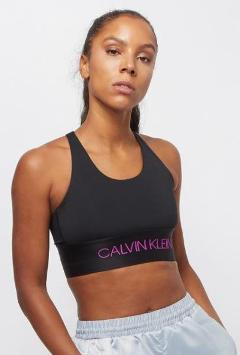 Top con logo Calvin Klein