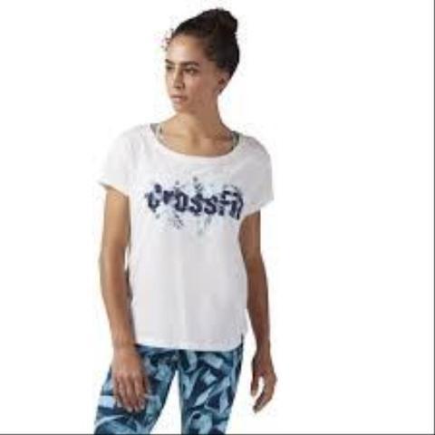 T-shirt Crossfit REEBOK Floral