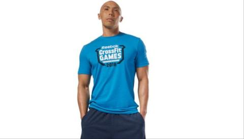 T-shirt Crossfit Games Crest REEBOK