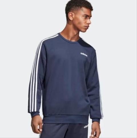 Felpa girocollo Essentials 3 stripes ADIDAS