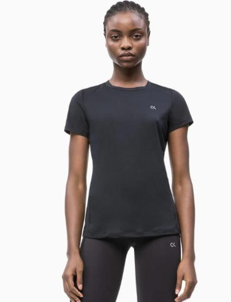 T-shirt inserto in rete Calvin Klein Performance