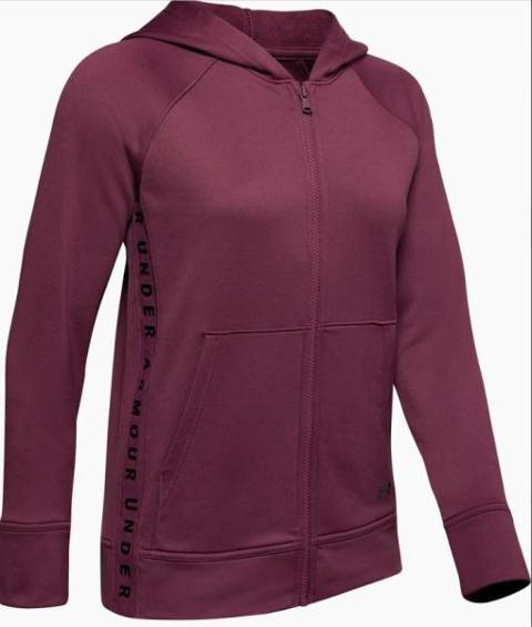 Giacca con zip e cappuccio tech terry UNDER ARMOUR