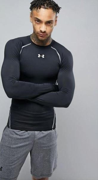 Maglia manica lunga compression UNDER ARMOUR