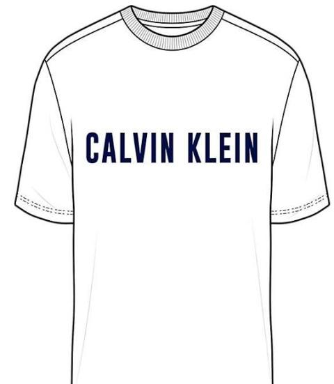 T-shirt logo Calvin Klein Performance