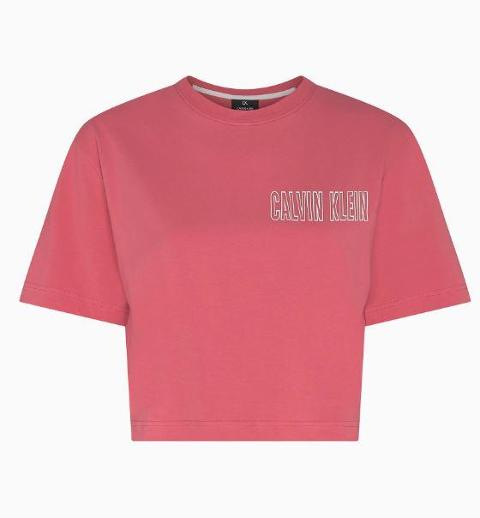 Crop t-shirt Calvin Klein Performance