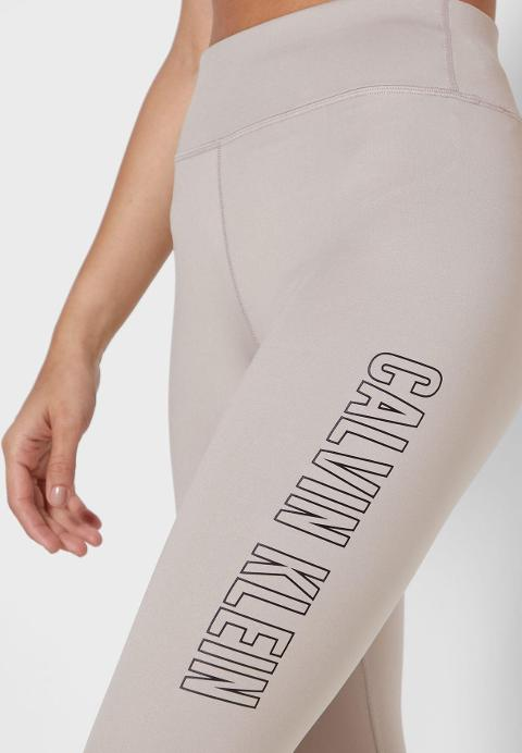 Full Leggins Logo Calvin Klein Performance