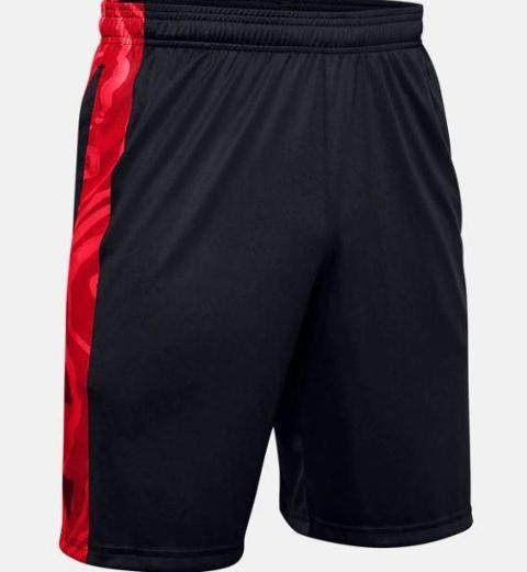 Tech Bar Logo Shorts UNDER ARMOUR