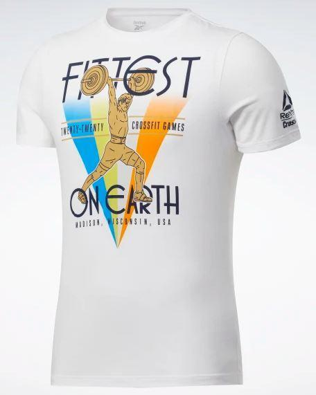 T-shirt Crossfit Fittest on Earth REEBOK