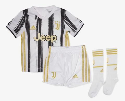 Kit Baby Juventus 2020/2021 Home ADIDAS