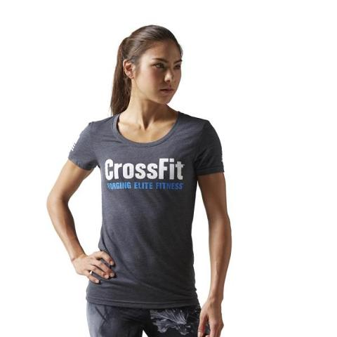 T-SHIRT CROSSFIT FORGING ELITE FITNESS REEBOK